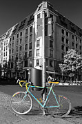 Ben and Raisa Gertsberg - Berlin Street View With Bianchi Bike