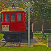 Ben and Raisa Gertsberg - Red Car Museum In Seal Beach CA